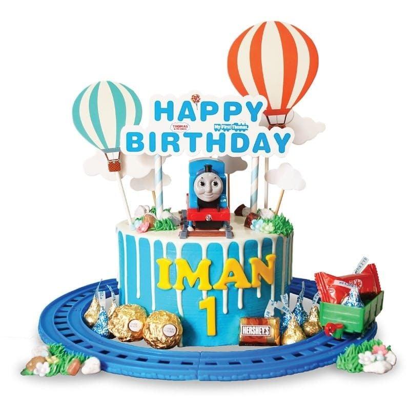 Brilliant Thomas Friends Cake Junandus Birthday Cards Printable Opercafe Filternl