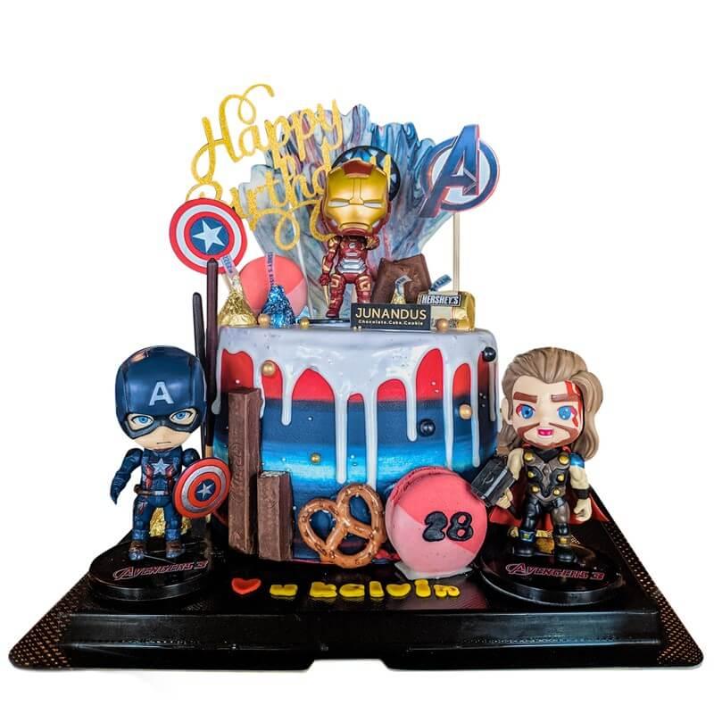 Avengers Cake - JUNANDUS